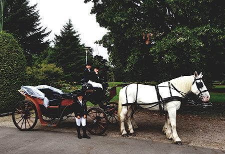 Mariage en calèche Wallonie